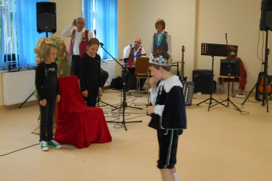 Spektakl dla społeczności Lusówka