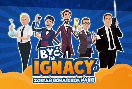 Być jak Ignacy … certyfikat uczestnictwa