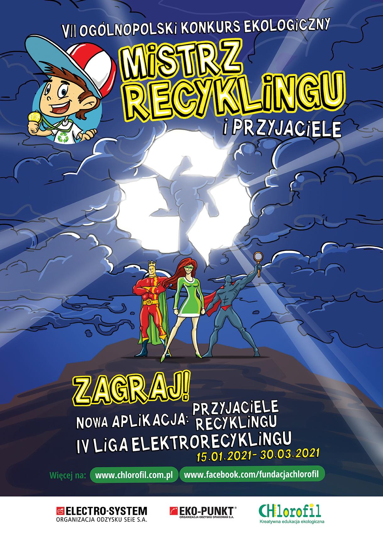 Jestem Eko – Mistrz Recyclingu i Przyjaciele